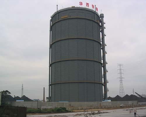 江苏华西特钢10万m38KPa多边型稀油密封高炉煤气柜