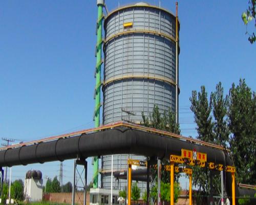 河北廊坊胜宝集团10万m312.5Kpa圆筒型稀油密封煤气柜